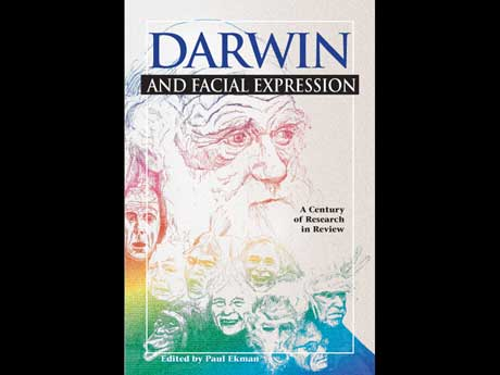 book cover of darwin and facial expressions by paul ekman
