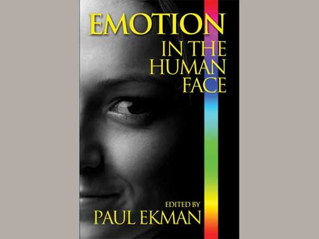 the book cover design for emotion in the human face