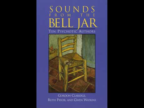 book cover design for sounds from the bell jar