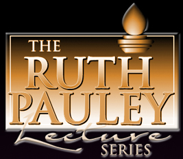 logo for ruth pauley lecture series