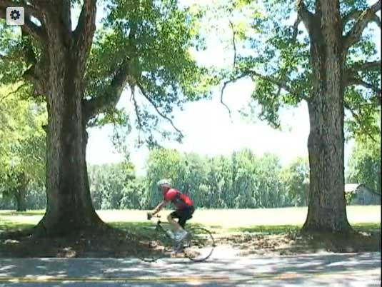 frame from the video production tour de moore classic rides