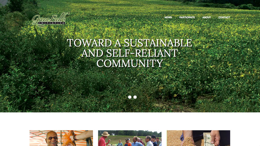 website for greenfields initiative